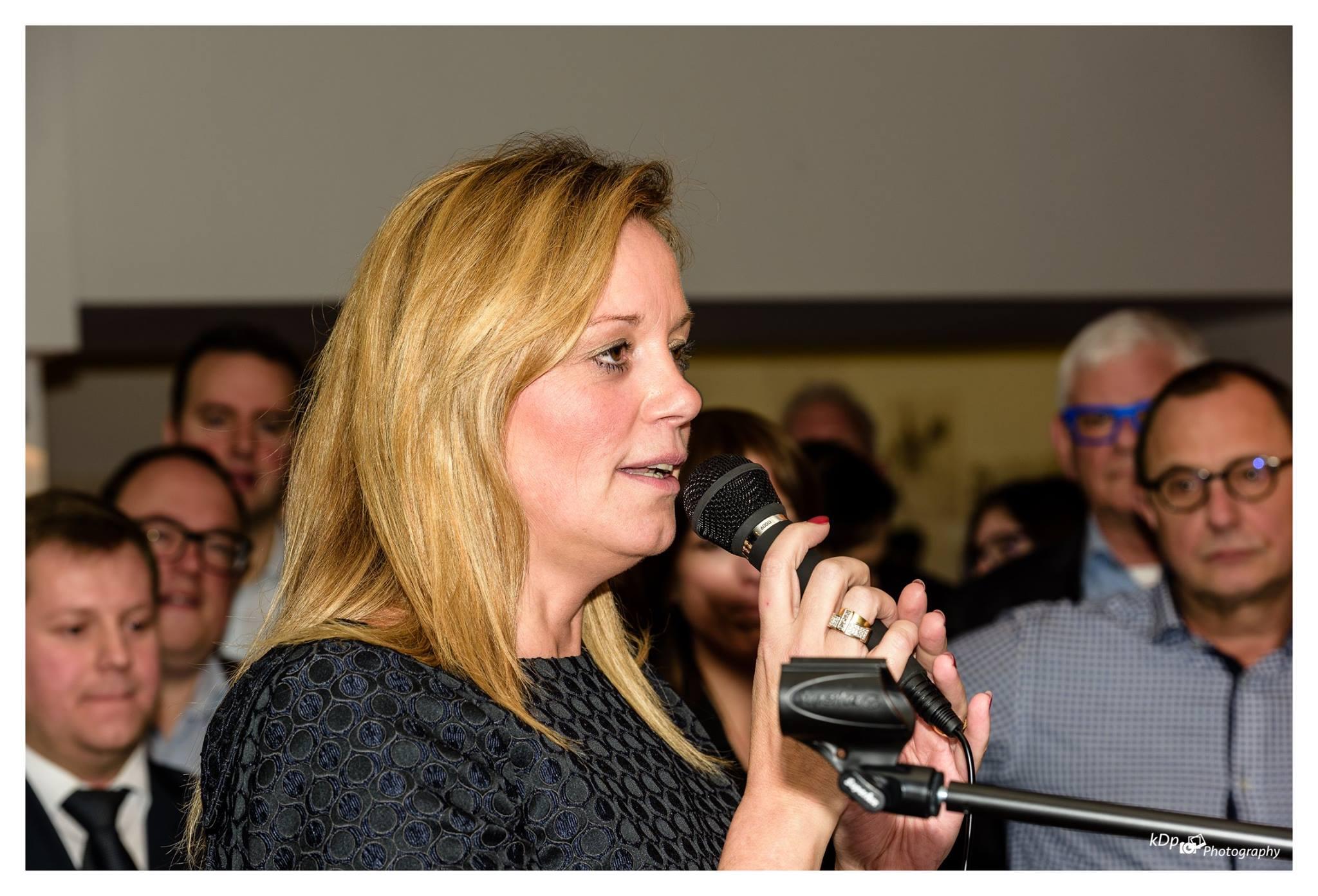 Foto website Ine speech nieuwjaarsreceptie