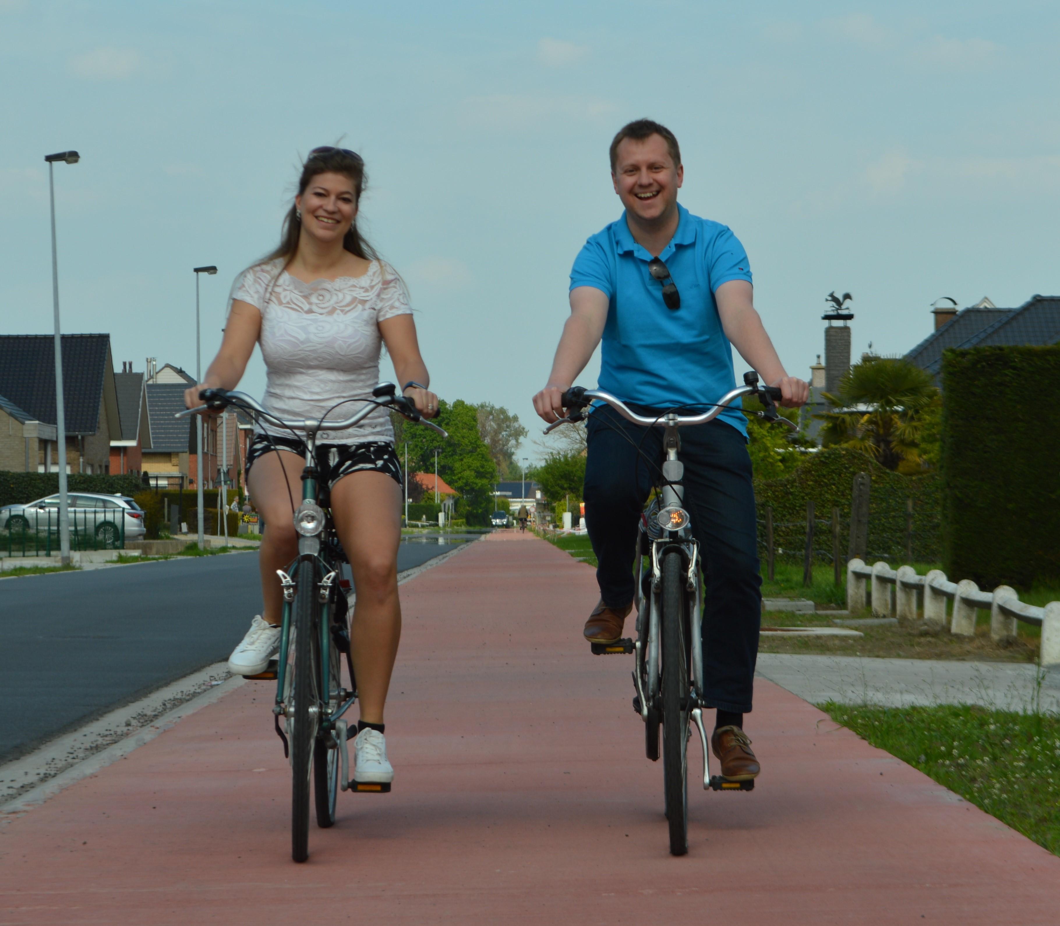 Foto fietspaden